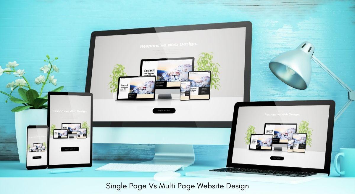 Single Page vs Multi Page Website