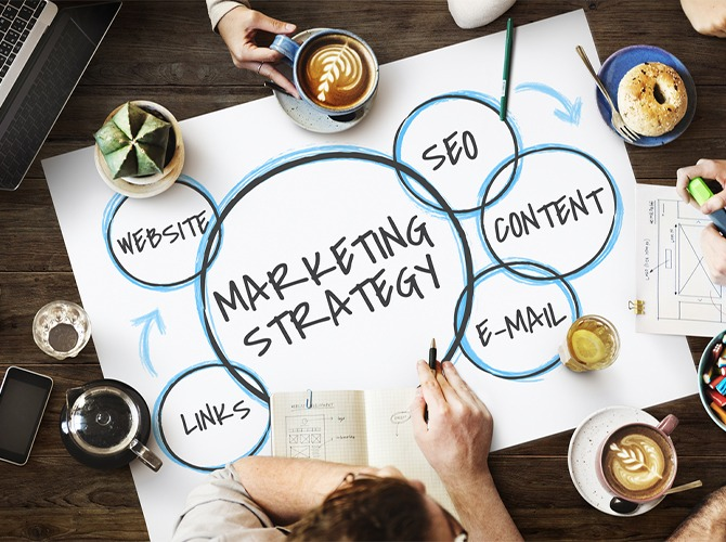 Digital Marketing Strategy for a new product launch